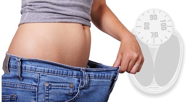 hubnutí, břicho, váha