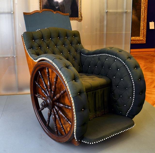 luxusní invalidní vozík