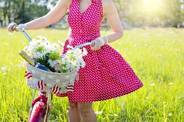 puntíkaté šaty
