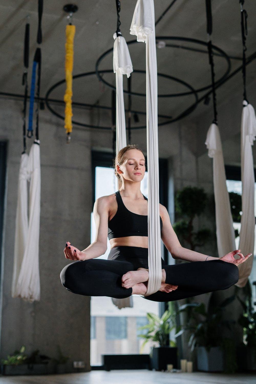 meditace ve vzduchu